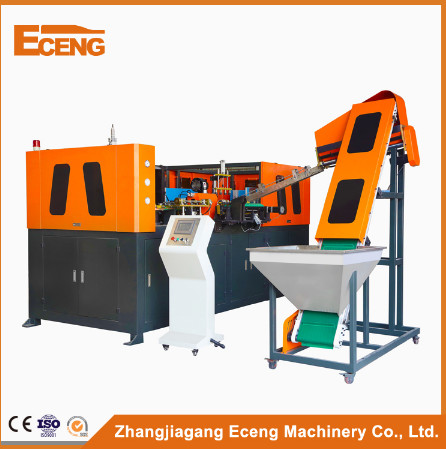High Speed Automatic Pet Blow Moulding Machine PLC Control With 4 Cavity
