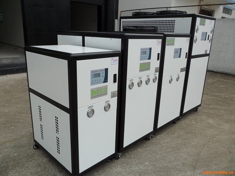 Thermal Protection Air Cooled Heat Pump Chiller With Rotary Evaporator