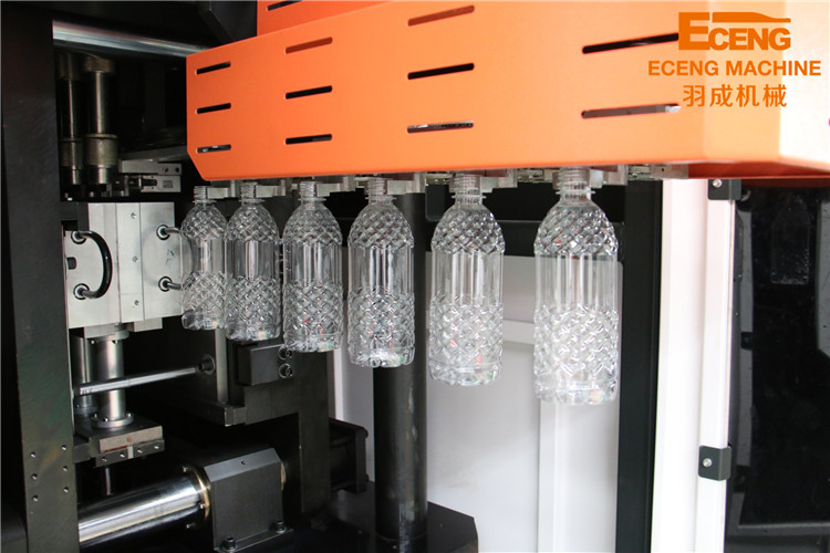 High Speed Automatic Water Bottle Making Machine , Blowing Moulding Machine
